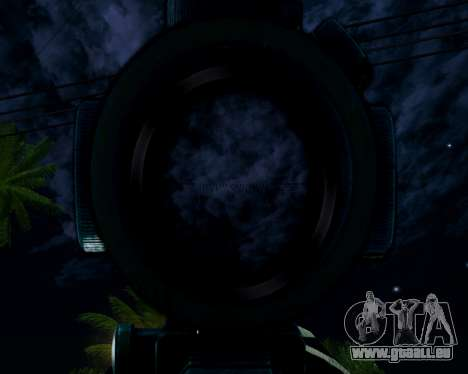 Sniper skope mod für GTA San Andreas her Screenshot