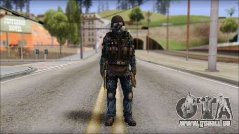 Tactical GIGN from Soldier Front 2 pour GTA San Andreas