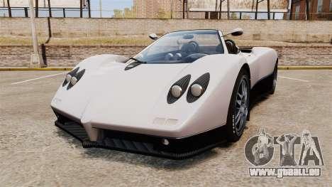 Pagani Zonda C12S Roadster 2001 v1.1 PJ2 für GTA 4