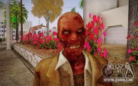 Crimson Zombie Skin pour GTA San Andreas troisième écran