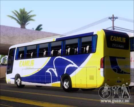 Busscar Vissta Buss LO Mercedes Benz 0-500RS für GTA San Andreas rechten Ansicht