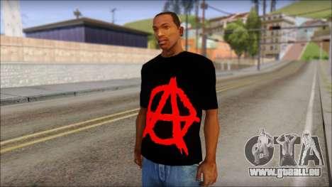 Anarhcy T-Shirt v1 für GTA San Andreas