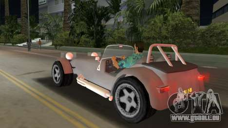 Caterham Super Seven pour une vue GTA Vice City de la gauche