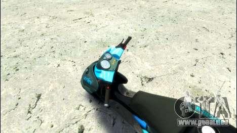 Yamaha Aero X Polini für GTA 4 rechte Ansicht
