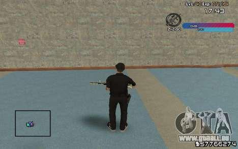 C-HUD by Nas pour GTA San Andreas deuxième écran