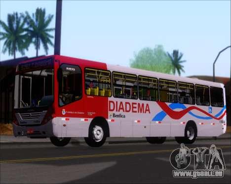Comil Svelto 2008 Volksbus 17-2 Benfica Diadema für GTA San Andreas Innen