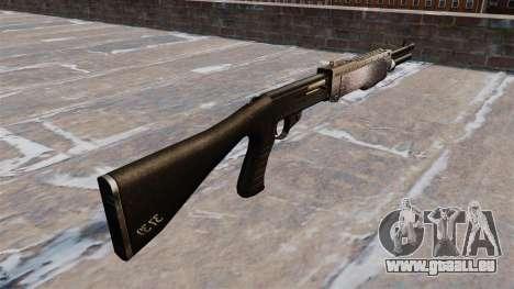 Ружье Franchi SPAS-12 de Chrome pour GTA 4 secondes d'écran