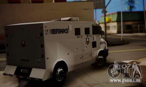 Iveco Daily Brinks pour GTA San Andreas laissé vue