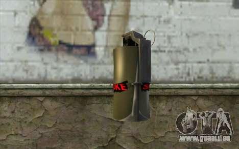 Smoke Grenade für GTA San Andreas zweiten Screenshot