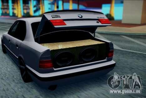BMW 520i E34 für GTA San Andreas linke Ansicht