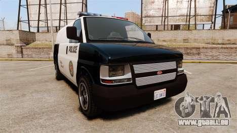 Vapid Speedo Los Santos Police [ELS] für GTA 4