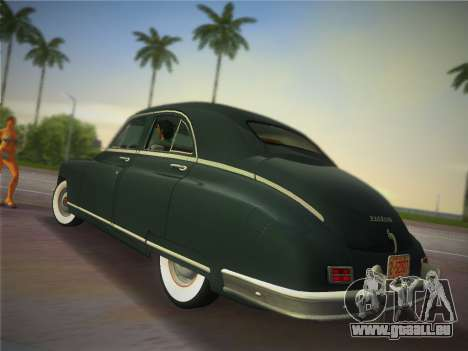 Packard Standard Eight Touring Sedan 1948 pour une vue GTA Vice City de la gauche