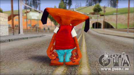 Roofus the Hound from Fur Fighters Playable für GTA San Andreas dritten Screenshot
