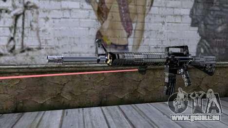 M4A1 mit laser-Augen für GTA San Andreas