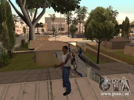 Optimus Jetpack pour GTA San Andreas deuxième écran
