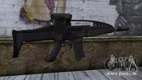 XM8 Assault Black pour GTA San Andreas deuxième écran
