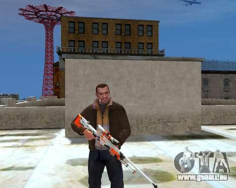 AWP für GTA 4 Sekunden Bildschirm