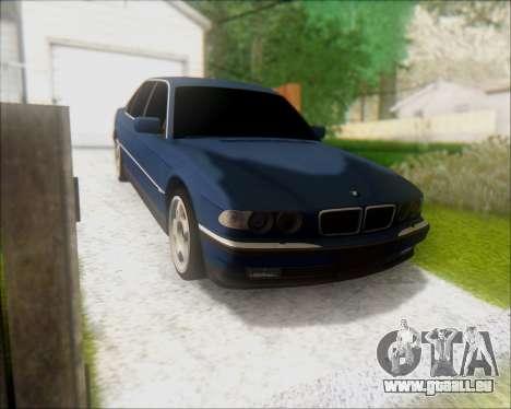 BMW 7 E38 für GTA San Andreas