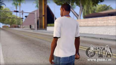 Real Madrid FC Jersey Mod für GTA San Andreas zweiten Screenshot