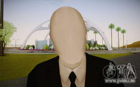 Slenderman für GTA San Andreas dritten Screenshot