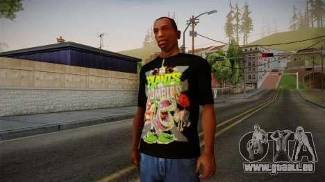 Plants versus Zombies T-Shirt pour GTA San Andreas