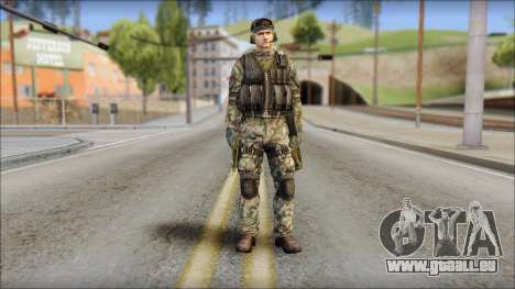 Nima GROM from Soldier Front 2 pour GTA San Andreas