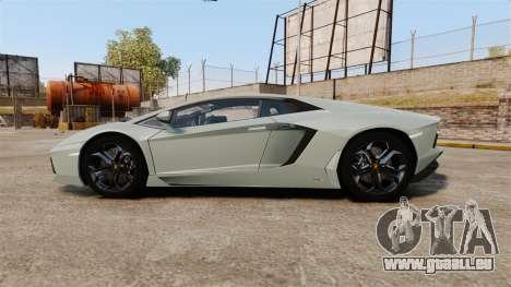 Lamborghini Aventador LP700-4 v2 [RIV] pour GTA 4 est une gauche