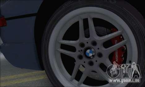 BMW E31 850CSi 1996 für GTA San Andreas Rückansicht