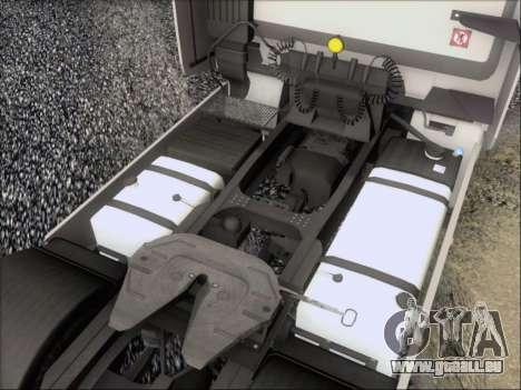 Iveco Stralis HiWay 560 e6 4x2 für GTA San Andreas Innen