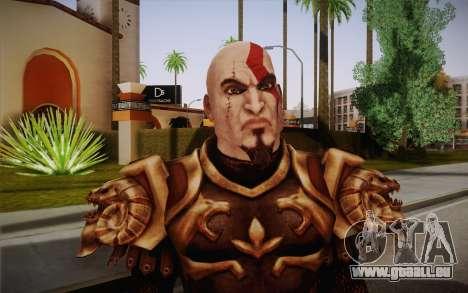 Kratos God Armor pour GTA San Andreas troisième écran