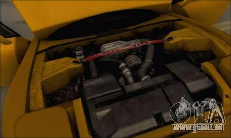 Mazda RX-7 1991 pour GTA San Andreas vue de dessous