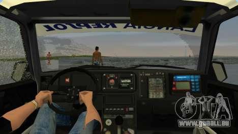 Lancia Delta HF Integrale für GTA Vice City zurück linke Ansicht