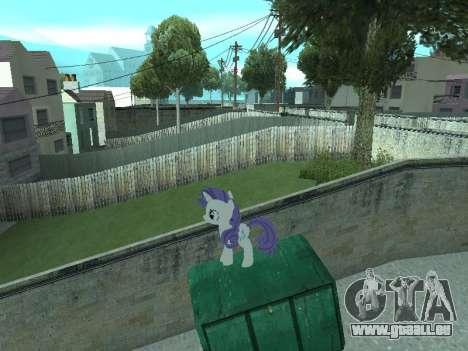Rarity pour GTA San Andreas huitième écran