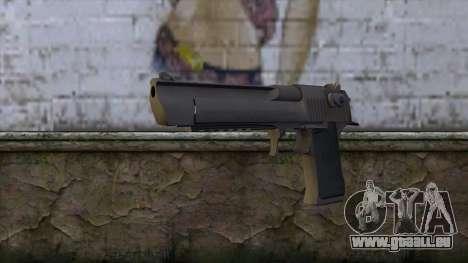 Desert Eagle from CS GO 1.0 für GTA San Andreas