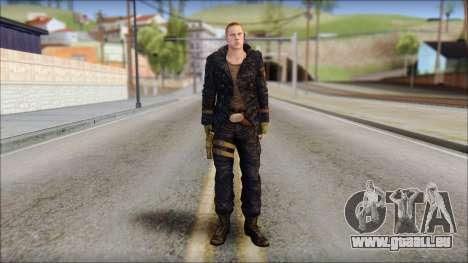 Jake Muller from Resident Evil 6 v1 pour GTA San Andreas