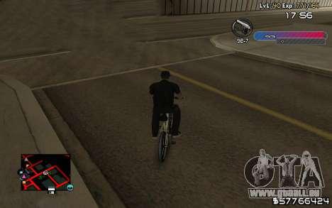 C-HUD by Nas pour GTA San Andreas troisième écran