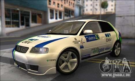 Audi A3 1999 pour GTA San Andreas moteur