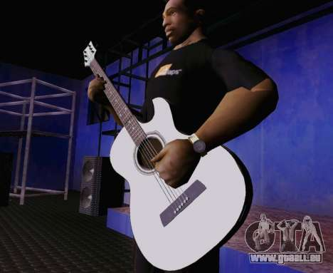 Les chansons de Viktor Tsoi guitare pour GTA San Andreas