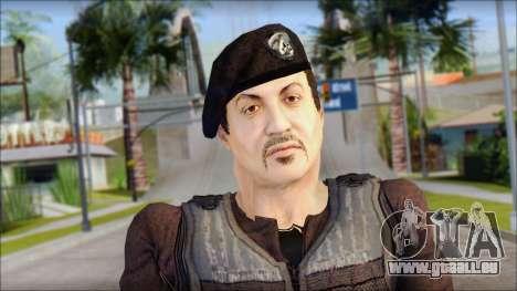 Barney Ross pour GTA San Andreas troisième écran