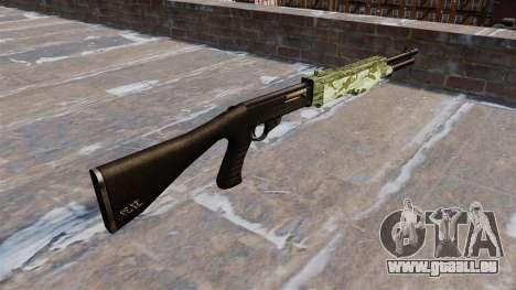 Ружье Franchi SPAS-12 Camo Vert pour GTA 4 secondes d'écran