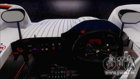 BMW 14 LMR 1999 für GTA San Andreas Unteransicht