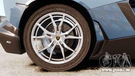 Lamborghini Aventador LP720-4 50th Anniversario für GTA 4 Rückansicht