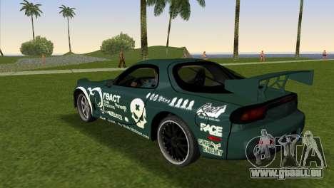 Mazda RX-7 Tuning für GTA Vice City linke Ansicht