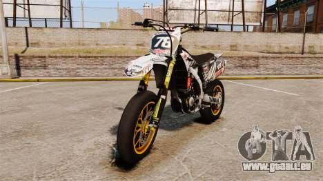Yamaha YZF-450 v1.20 pour GTA 4