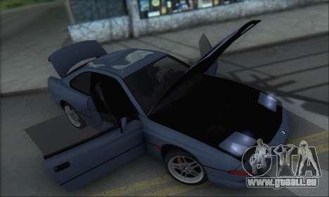 BMW E31 850CSi 1996 für GTA San Andreas Seitenansicht