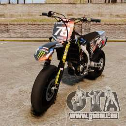 Yamaha YZF-450 v1.18 für GTA 4