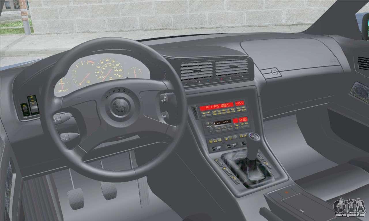 Bmw E31 850csi 1996 Pour Gta San Andreas