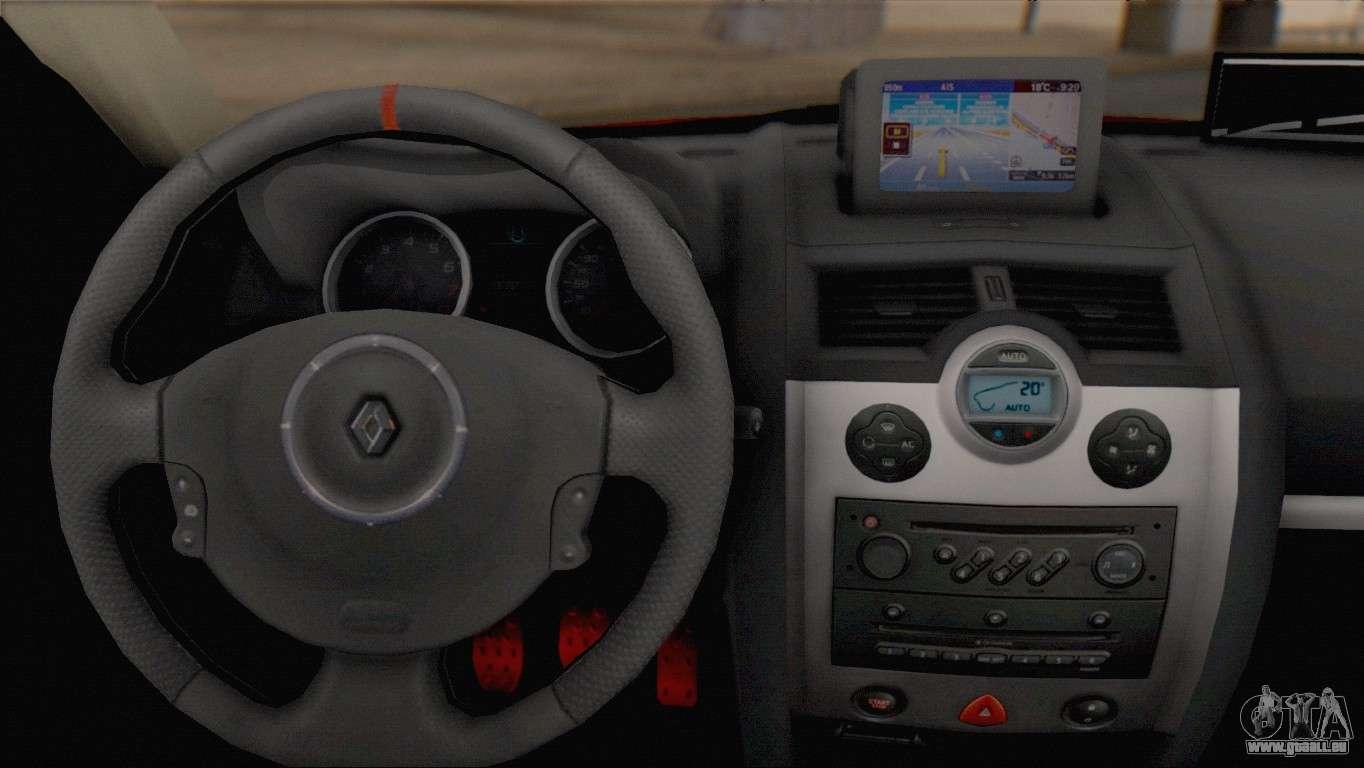 Renault Megane Ii Hatchback Pour Gta San Andreas