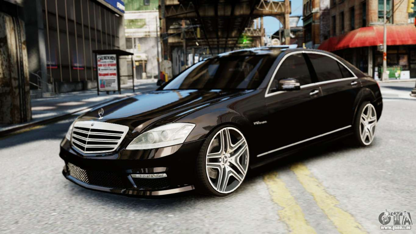 Mercedes benz s65 w221 amg v1 3 f r gta 4 for Mercedes benz s65