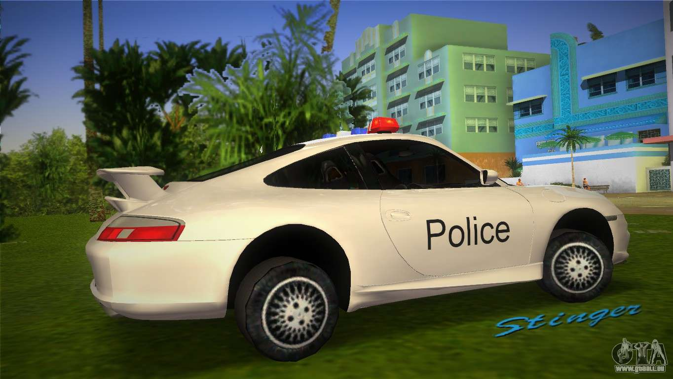 porsche 911 gt3 police f r gta vice city. Black Bedroom Furniture Sets. Home Design Ideas